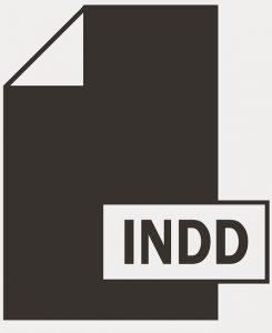Ein Abbildung des Logos für das INDD-Bildateiformat.