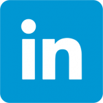 The logo of LinkedIn.