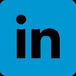 Das Logo von LinkedIn.