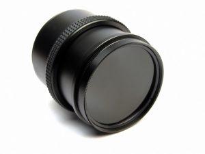 Abbildung eines Kameraobjektivs.