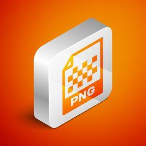 Das Logo für das PNG-Bildformat.