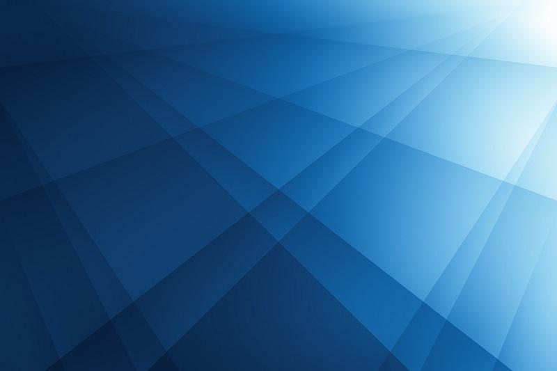 A blue pattern.
