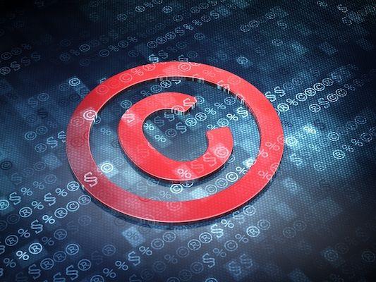 Eine Abbildung des Copyright-Logos.