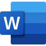 The logo of Microsoft Word.
