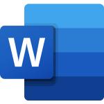 Das Logo von Microsoft Word.