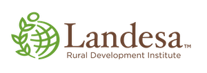 The logo of Landesa.