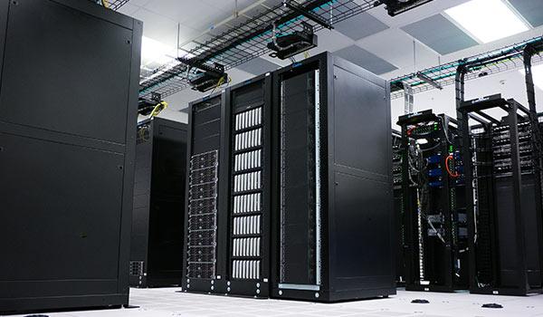 Ein Datenarchiv, das aus mehreren Servern besteht.