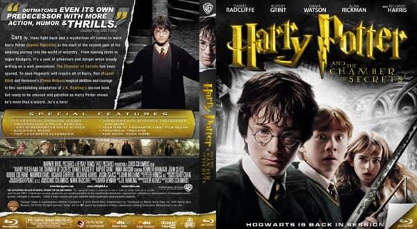 Das Cover eines Harry Potter-Films.