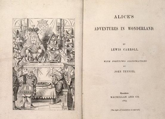 Das Innendeckblatt eines Buches.
