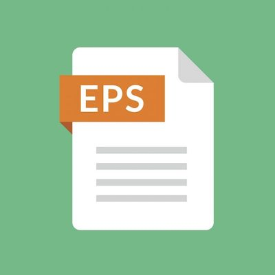 Das Dateisymbol für das EPS-Bildformat.