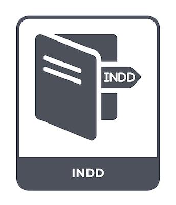 Das Dateisymbol für INDD-Bildformat.