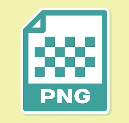 Das Symbol für das PNG-Bildformat.