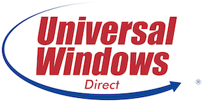 The logo of Universal Windows Direct.