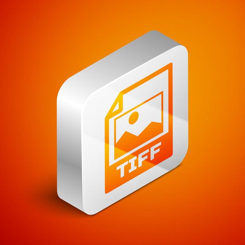 A TIFF image file icon.