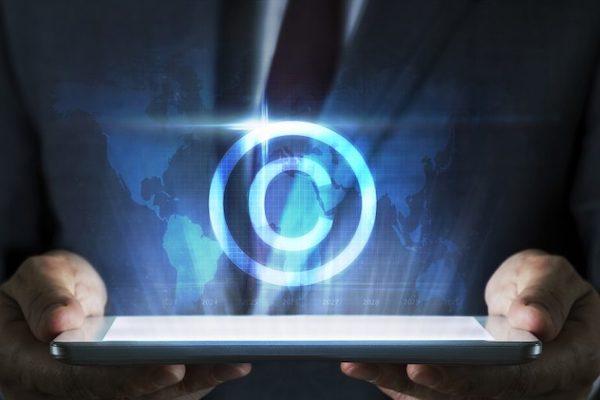 a copyright logo