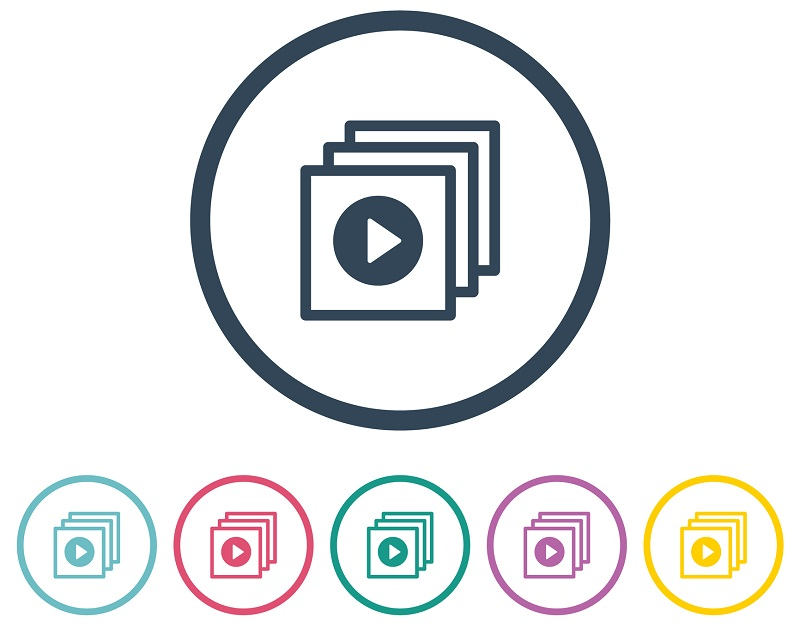 A video file icon.