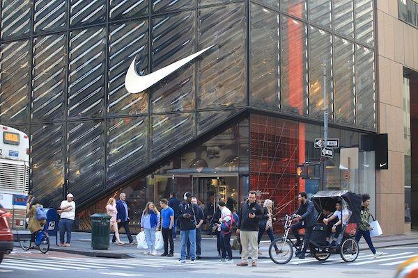 Ein Gebäude von Nike, ein Beispiel für erfolgreiche Marken.