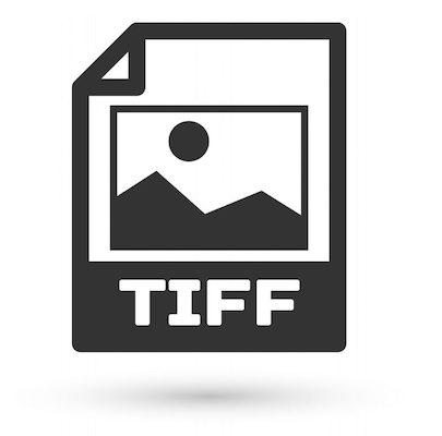 Die Abbildung des Dateisymbols für das TIFF-Bildformat.