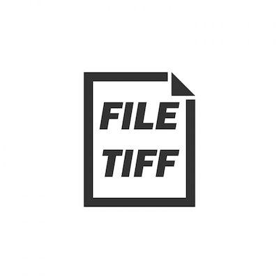 Ein Dateisymbol für das TIFF-Format.