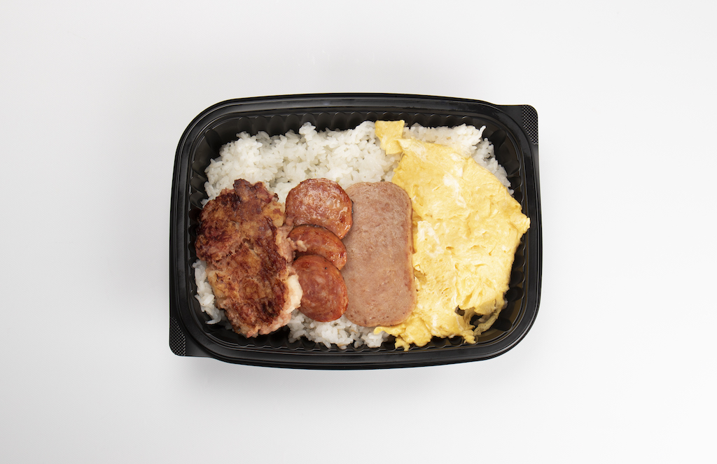 Picture of the Deluxe Breakfast Bento.