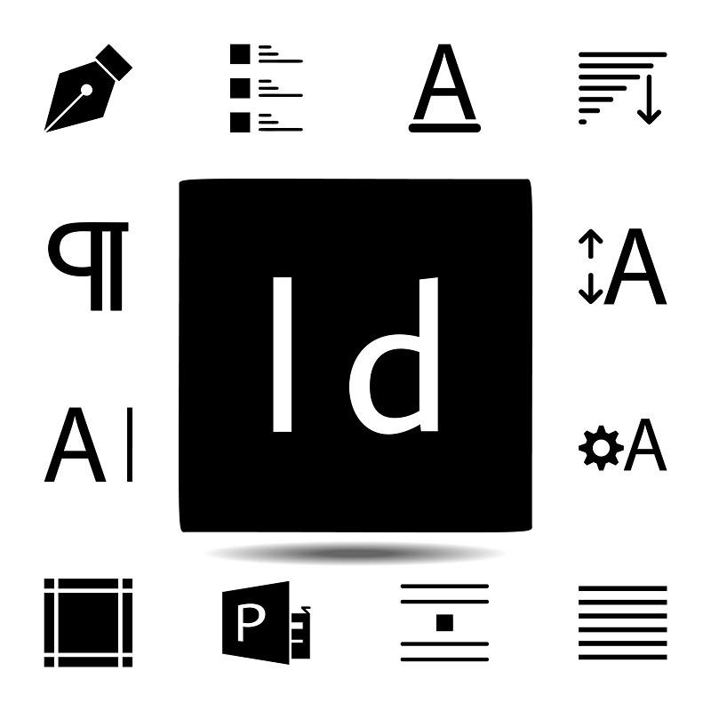 The InDesign file icon.
