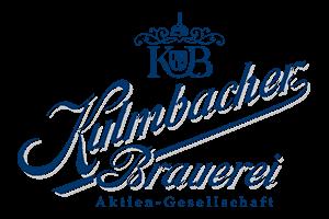 The logo of Kulmbacher brewery