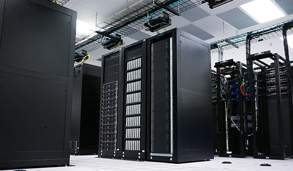 An archive of data servers.