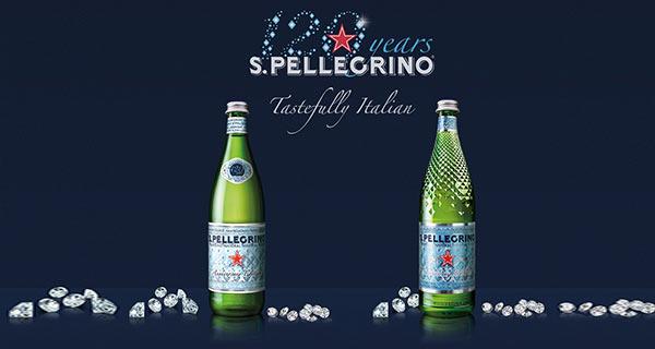 San Pellegrino bottles.