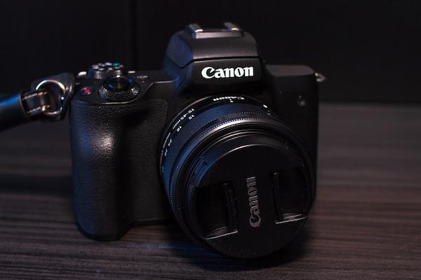Abbildung einer Canon-Kamera, die .cr2-Bildformate erzeugen kann.
