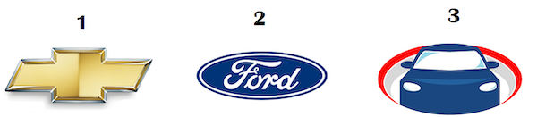 Die Logos verschiedener Automobilhersteller.