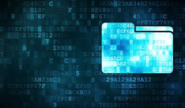 Ein digitaler Ordner, der mit Metadatentypen genauer gekennzeichnet werden kann.