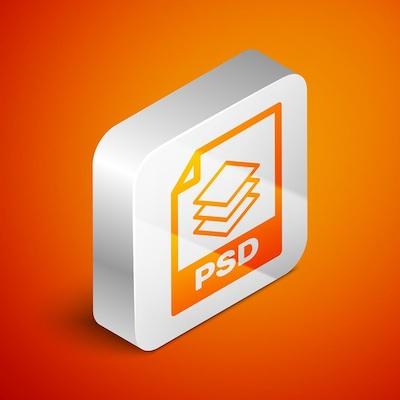 Das Dateisymbol für das PSD-Bildformat.