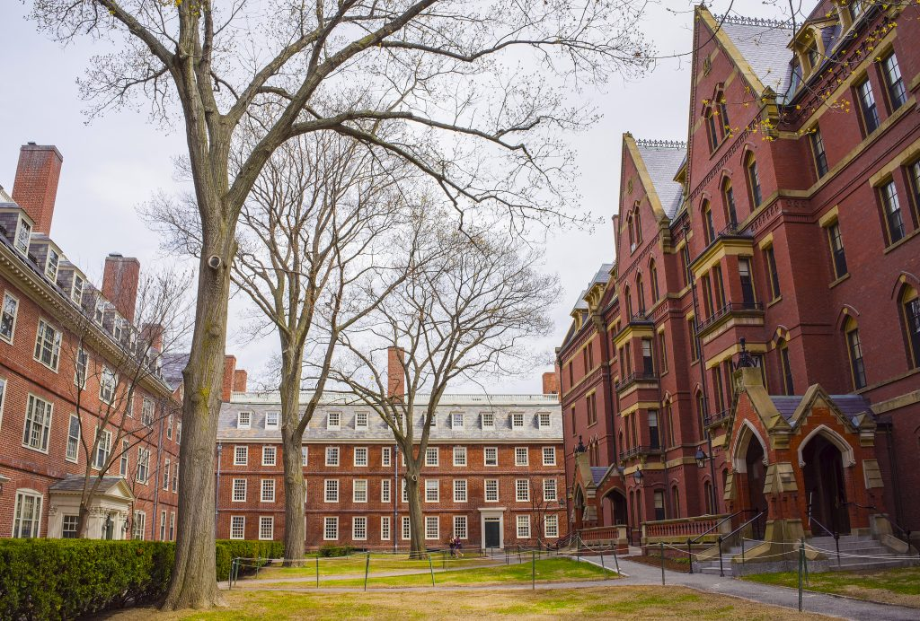 Image of Havard University.