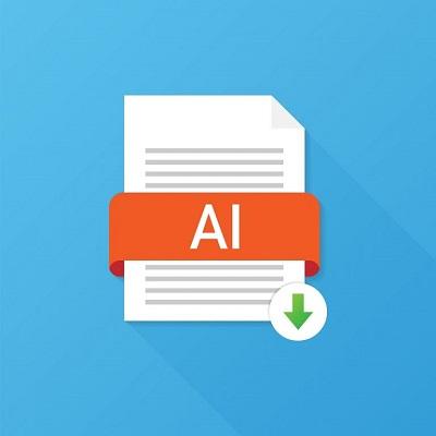 Das Dateisymbol für das AI-Bildformat.