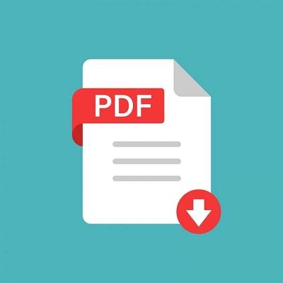 Das Dateisymbol für das PDF-Dokument.