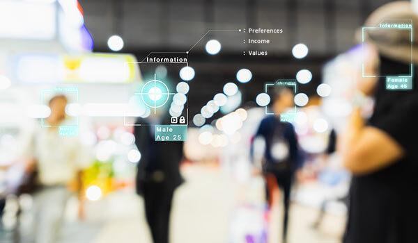 A digital HUB specifying customers.