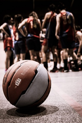 Abbildung einer Basketballmannschaft.
