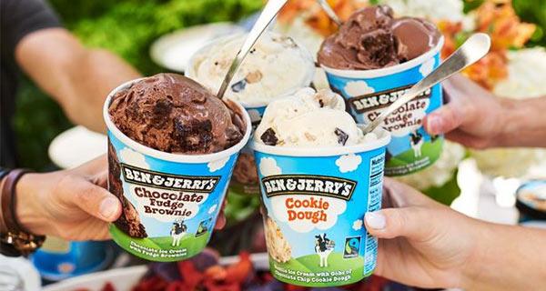 Ein Eis der Marke Ben & Jerry's, das erste Beispiel für effektive Markenloyalität.
