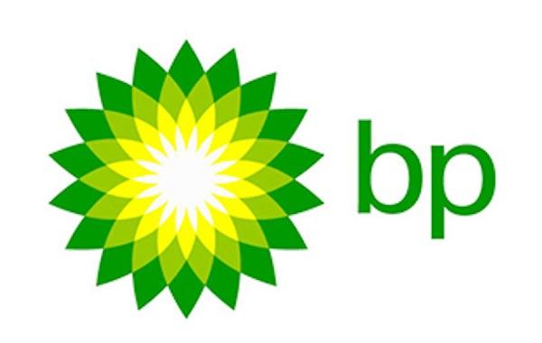 Das Logo von BP.