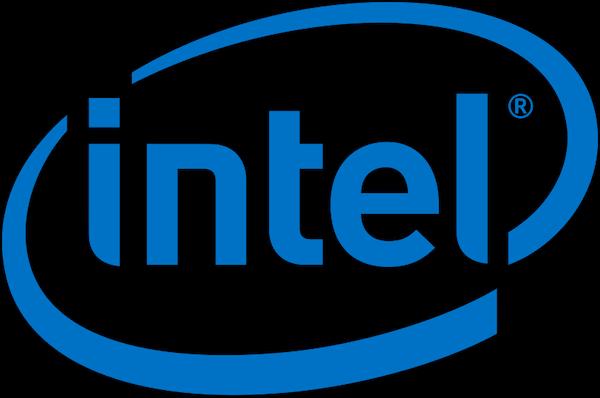 Das Logo von Intel.