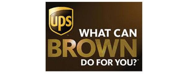 Einer der früheren Slogans von UPS.
