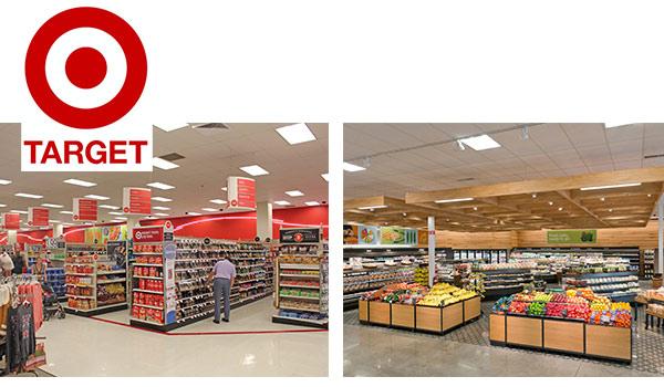 Die neu gestalteten Geschäfte von Target.