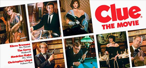 Ein Filmplakat zu 'Cluedo'.