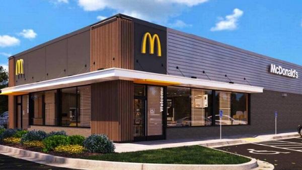 Eine Filiale von McDonald's.