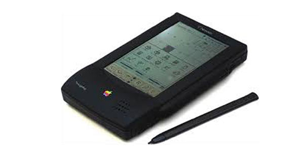 The Apple Newton PDA.