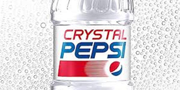 Pepsi Crystal, die transparente Cola.