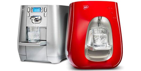 Das Wasserfiltersystem von Virgin.