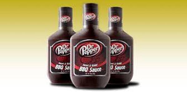 Die Dr. Pepper Grillsoße.