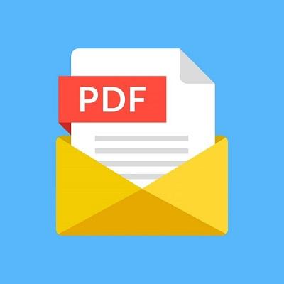 Eine Abbildung des Symbols für das PDF-Dokument.