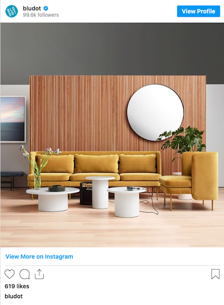 Instagram post by Bludot